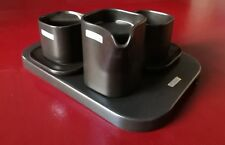 Set ceramica da tè caffè Arnolfo di Cambio Makio Hasuike vintage design 1975