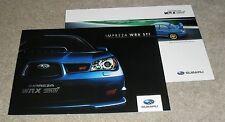Subaru Impreza WRX STI Brochure 2007