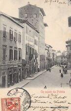 PISTOIA - Un saluto da Pistoia 1903