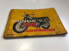 Honda CB 500 Manual de Instrucciones / Guía Del Conductor (1971)