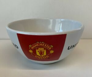 Manchester United - Man Utd - Ceramic Cereal Breakfast Bowl - Collectable