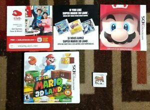 Super Mario 3D Land Complete (Nintendo DS, 2011) VG Shape & Tested