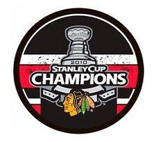 Chicago Blackhawks 2010 NHL Stanley Cup Champions Souvenir Hockey Puck