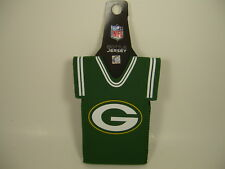 NFL Green Bay Packers Insulated Beer Soda Bottle Jersey Sleeve Green