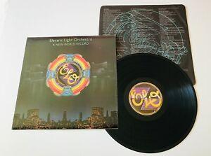 "Electric Light Orchestra "" A New World Record "" UK Press Album Jet Record Label"