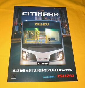 Isuzu Citimark 2011 Bus Prospekt Brochure Prospetto Catalog Folder Prospect