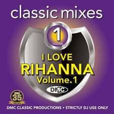 DMC I Love Rihanna Megamixes & 2 Trackers Mixes Remixes DJ CD Ft Calvin Harris