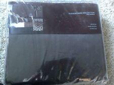 """HUDSON PARK Collection King Bedskirt Manhattan Jacquard  New 16"""" Skirt Drop"""