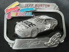 JEFF BURTON #99 EXIDE BATTERIES LIMITED EDITION NASCAR BELT BUCKLE