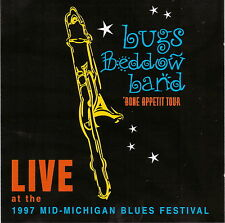 BUGS BEDDOW BAND -  LIVE! at the 1997 Mid-Michigan Blues Festival (CD 1997)