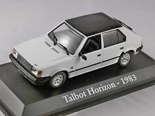 1983 TALBOT HORIZON GLS in White 1/43 scale diecast model car RBA Collectables