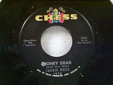 "JACKIE ROSS ""HONEY DEAR / TAKE ME FOR A LITTLE WHILE"" 45 MINT UNPLAYED"