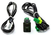 USB AUX Einbau Buchse 2 in 1 Adapter MP3 passend für BMW 5er/6er  1er/ E87