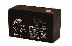 Ritar RT1290 - Sealed Lead Acid 12V 9Ah battery cell
