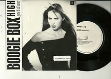 "Boogie Box High - Gave it all away  UK 7"" + PROMO Str oC   Hardback 7 BOSS 5"