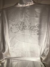 VICTORIA'S SECRET I Do Bling Bride Kimono Robe One Size