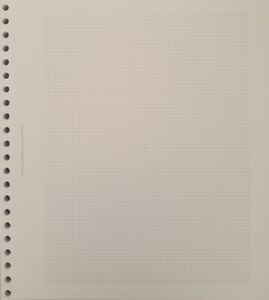 22 Ring stamp album pages for New SG albums - Size 28cm x 25cm - From 9p a page
