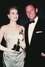 Grace Kelly Holding Academy Award With William Holden 11x17 Mini Poster