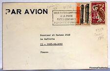 Lettre  COTE D IVOIRE   1966   AV45