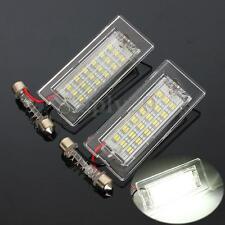 2x Error Free LED Number License Plate Light Lamp For BMW X5 E53 X3 E83 03-10