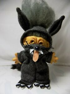 "60's OOAK 5"" Dam troll ""The Big Bad Wolf"