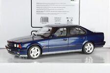 BMW M5 E34 Bleu/Blue/Blau 1/18 OT576 Otto Ottomobile RARE !