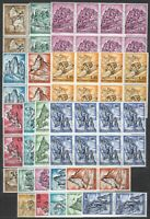 DEALER STOCK SAN MARINO MNH 1962 Mountains 10v 10 SETS s32697