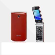 TELEFONO CELLULARE BRONDI MAGNUM 3 DUAL SIM FLIP ROSSO TASTI GRANDI