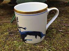 Reichenbach Noble Tasse à café Coléoptère 0,3 litre - Bleu avec de l'OR
