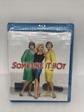 Some Like It Hot (Blu-ray, 1959) Marilyn Monroe New Sealed!