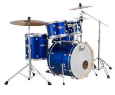 Pearl Export Drum Kit With Sabian SBR Cymbals - High Voltage Blue