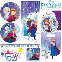 Disney Frozen Snowflake Birthday Party Tableware Decorations Favours