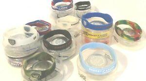 Energy Armor negative ion silicone bracelet  RARE COLORS Authentic SALE