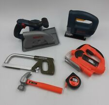 Kids Realistic POWER TOOL TOYS Play Set 6-PCS LOT Black&Decker BOSCH Home Depot