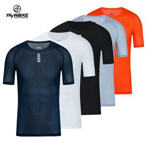 Superlight Bike Base Layers Short Sleeve Shirt Breathable Cycling Jerseys Cloth