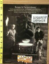 Orville Redenbacher Popcorn 1990 Vintage Print AD: Raiders of The Lost Kernel