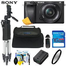 Sony Alpha a6300 Mirrorless Digital Camera W/ 16-50mm Lens W/ I3ePro Starter Kit
