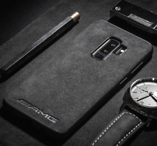 iPhone Mercedes AMG Alcantara Suede Phone Case Cover ALL MODELS UK SELLER