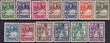 1932 SIERRA LEONE SG 155-67 perf. SPECIMEN MH CV £325