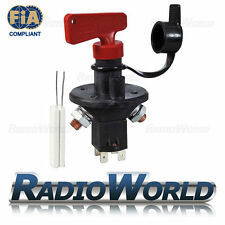 Master Battery Isolator Cut Out Off Kill Switch FIA Type Kit Car Race Rally