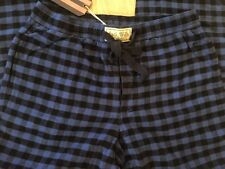 Jack Wills Dunford Flannel Loungepant. Red / Black Check. Size M Medium