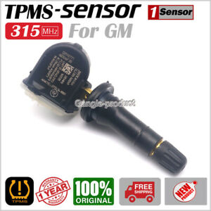 1Piece NEW Tire Pressure Sensor TPMS GM 315MHz For GMC Buick Cadillac Chevrolet
