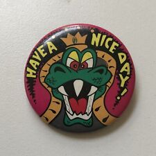 1989 Have A Nice Day Super Mario Bros Pin Nintendo Button NOA OSP Publishing