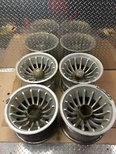 Vintage Turbine Cyclone Wheels Mags 15X10 5X5.5 Ford Jeep Dodge F150 E150 D100