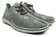 Mark Nason by Skechers Whitley Men's Sport Knit Faux Snake Skin Shoes Size 9