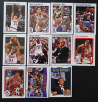 1991-92 Hoops Phoenix Suns Team Set Of 11 Basketball Cards Missing 2 Cards