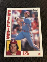 1984 Topps Pete Rose #300 Cincinnati Reds Baseball Card