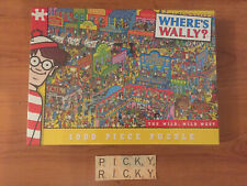 Paul Lamond Where's Wally? Wild West 1000 Piece Jigsaw Puzzle - New/Sealed