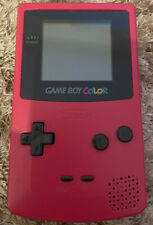 Nintendo Game Boy Color Rot Handheld System