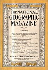 1931 National Geographic May - Big Illinois issue; Strobeck Germany; Chess;Andes
